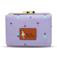 [FREE ONGKIR] Lady Women Short Purse Clutch Wallet Bag Card Holder