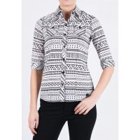 [LGS] Kemeja Slim Fit - Ladies Shirt - Gray - Long Sleeve LSH.380.S1127.408.C L/S