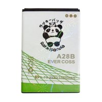 BATTERY BATERAI DOUBLE POWER DOUBLE IC RAKKIPANDA EVERCOSS CROSS A28B 3500mAh