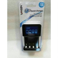 Vanson LCD Quick Charger 5Hrs V-6680 For Battery AA & AAA Rechargeable