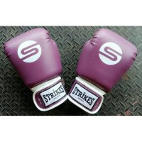 Sarung Tinju Muaythai Boxing Gloves Purple Ungu