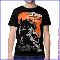 KAOS BAJU DISTRO ANIME - CONAN SHADOW SPANDEX