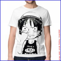 KAOS BAJU DISTRO ANIME - LUFFY NGUPIL