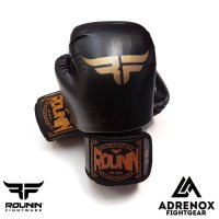 Rounin Fightware Boxing Glove - Contender 14 oz - Black - Sarung Tinju