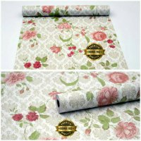 Wallpaper Sticker Dinding Motif Bunga Termurah08