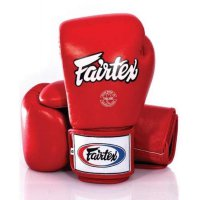 Glove Sarung Tinju Fairtex Red + Handwrap Fairtex Sepasang Red