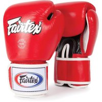 Glove Sarung Tinju Fairtex Red + Handwrap Fairtex Sepasang Red 5 meter