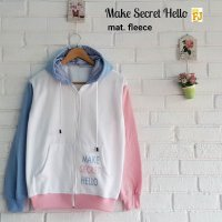 HR-Outwear Jaket atau Sweater Make Secret Hello