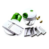 Mini Chopper Multifuncion With slicer / Blender tangan kumplit