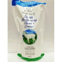 Leivy shower cream goat's milk refill 900 ml