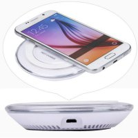 Qi Wireless Charger Charging Pad for Samsung Galaxy S6/S6 Edge Plus