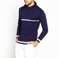 Sweater Rajut Panjang Nevy Blue - Long Knitt