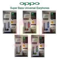 Super Bass Stereo Handsfree Oppo (Bisa Telpon) | Earphone Oppo Super Bass | Super Bass Headset Oppo