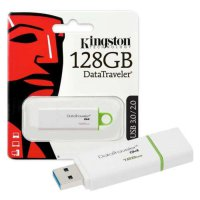 Kingston Flashdisk DataTraveler Generation 4 (DTIG4) - 128GB