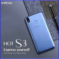 Infinix Hot S3 Garansi Resmi 20MP Sony IMX Kamera Full Display 4000mAh