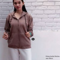 HR-Outwear Jaket atau Sweater prime jacket mocha