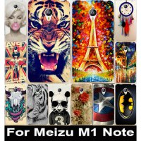 [globalbuy] 2015 Colorful Transparent Painted Protective Mobile Phone Case Hard Back Cover/1367056