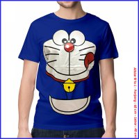 KAOS BAJU DISTRO ANIME - DORAEMON FACE