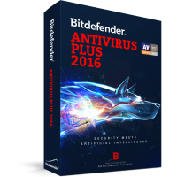 [ Bitdefender ] Bitdefender AntiVirus Plus 2016 ( 5 PC / 1 Year )