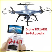 Drone Quadcopter Syma X5HW Wifi FPV Camera Altitude hold Jakartahobby