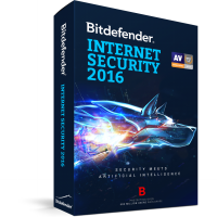 [ Bitdefender ] Bitdefender Internet Security 2016 ( 3 PC / 1 Year )
