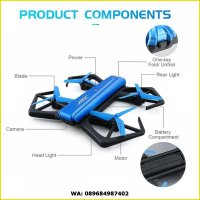 Drone JJRC H43WH BLUE CRAB 720P WIFI CAMERA FOLDABLE ALTITUDE HOLD D