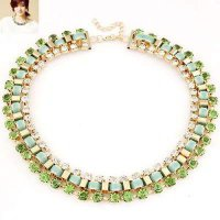 KALUNG 01A745r Cz Diamond Decorated Weave Design Light Green