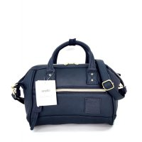 Tas Import Anello Boston 2Way Leather PU Small - Navy