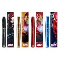 THE FACE SHOP 2 in 1 Curling Mascara Marble
