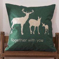 Sarung Bantal Kursi 45 x 45 CM Model Deer Lash