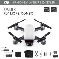 DJI Drone Spark Fly More Combo White And Red Ready