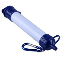 FilterPure Personal Water Straw Filter Purifier (OEM) - Blue