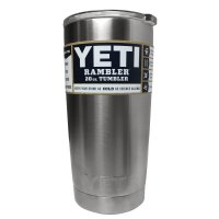 Yeti Rambler Thermos Stainless Steel 800ml - Silver
