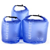 Safebet Floating Waterproof Bucket Dry Bag 15 Liter - Blue
