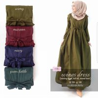 Dress Wanita // Baju Gamis // Wings Dress