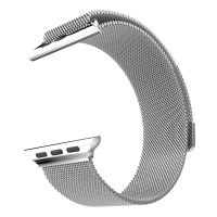 Hoco Milanese Stainless Steel Watchband for Apple Watch 38mm Series 1 & 2 - Silver
