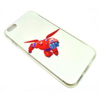 Big Hero Silicon + TPU Case for iPhone 6 Plus - TPU30