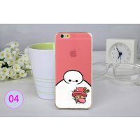 Big Hero Silicon + TPU Case for iPhone 6 Plus - TPU41