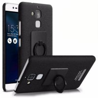 Imak Contracted iRing Hard Case for Asus Zenfone 3 Max ZC520TL - Black