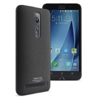 Imak Cowboy Quicksand Ultra Thin Hard Case for Asus Zenfone 2 5.5 Inch ZE551ML ZE550ML - Black