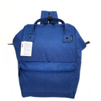 Tas Unisex Anello Ori Mottled Backpack Large - Neon Blue