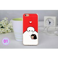 Big Hero Silicon + TPU Case for iPhone 6 Plus - TPU38