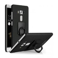 Imak Contracted iRing Hard Case for Asus Zenfone 3 Deluxe ZS570KL - Black