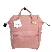 Tas Unisex Anello Ori Mottled Backpack Large - Peach