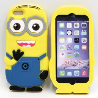 Minion Despicable Me TPU Case for iPhone 6 Plus - Navy Blue