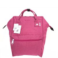 Tas Unisex Anello Ori Mottled Backpack Large - Pink