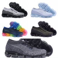 2018 Running Shoes Weaving racer Ourdoor Athletic Sporting Walking Sneakers for Women Men Fashion white Casual maxes Size36-45 women US8 11