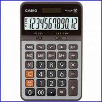 Casio AX 120 B - Calculator Desktop Kalkulator Meja Kantor AX-120B