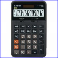 Casio AX 12 S - Calculator Desktop Kalkulator Meja Kantor Office AX-12
