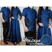 BATIK COUPLE MAZAYA / DRESS / GAMIS / HIJABERS / BUSANA MUSLI